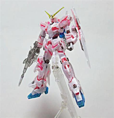 Kaos Gundam Unicorn Model 1 hguc 1 144 unicorn gundam destroy mode pearl clear bandai gundam models kits premium shop