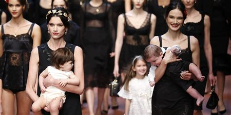dolce and gabbano dolce gabbana s fall 2015 show celebrates mamma with