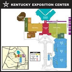 map of center kentucky exposition center facility maps
