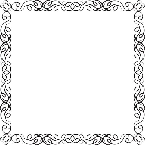Frame Clipart 1208054 Illustration By by Ornaments Vector Frame