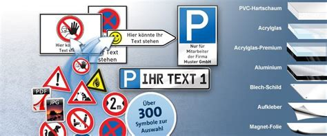 Bauschild Online Gestalten by Parkschilder Und Parkverbotsschilder Einfach Online