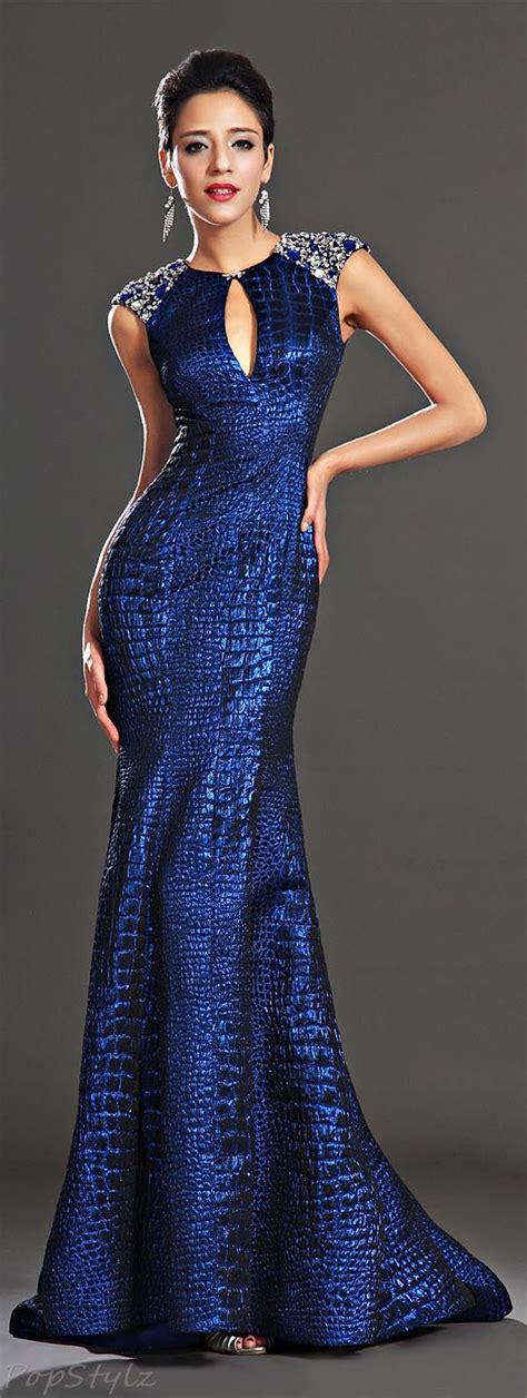Gown Blue edressit 02130905 sapphire blue evening dress formal