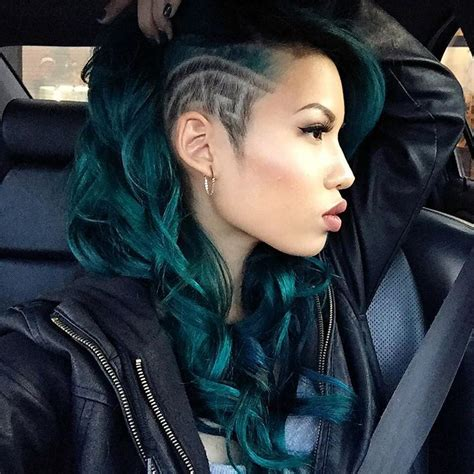 Green Hairstyles by 18 Gorgeous Green Colored Hairstyle Ideas 2017 Hairstyle