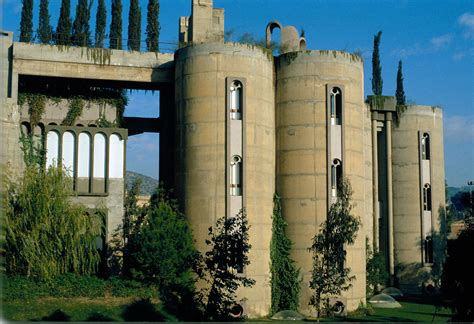 cement factory house spanish architect ricardo bofill transforms old cement