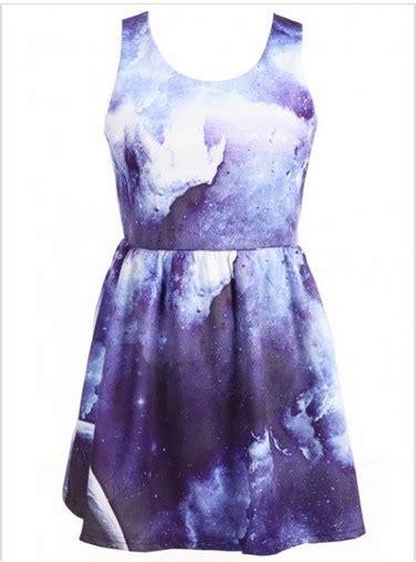 galaxy pattern clothes galaxy pattern dress ecs009865 on luulla