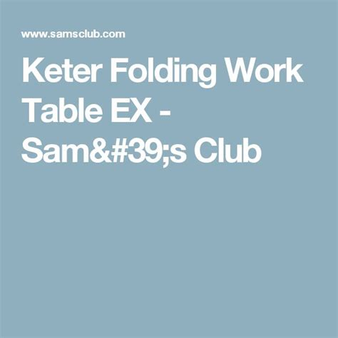 sam s work table 1000 ideas about keter folding work table on