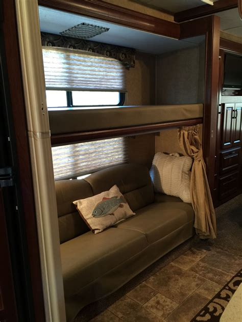 travel trailers with bunk beds bunkhouse this is obviously intended for the kiddos but
