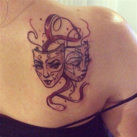 sara tattoo drama mask k laughing buddha in seattle