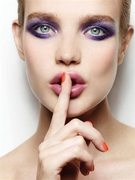 Make Up vodianova for etam cosmetics fall winter 2014