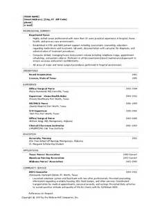 registered resume template printable forms