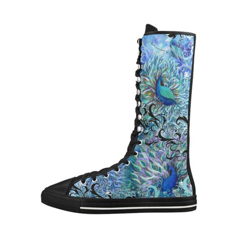 Sneakers Style Blink Canvas Sneakers Ledies Model 13 1 Vl peacock colorful print sneaker boots canvas boots for model 7013h id d1379913