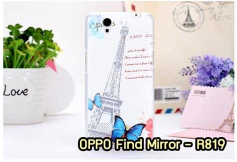 themes oppo r821 m742 08 เคสซ ล โคน oppo find mirror ลาย paris ii anajak