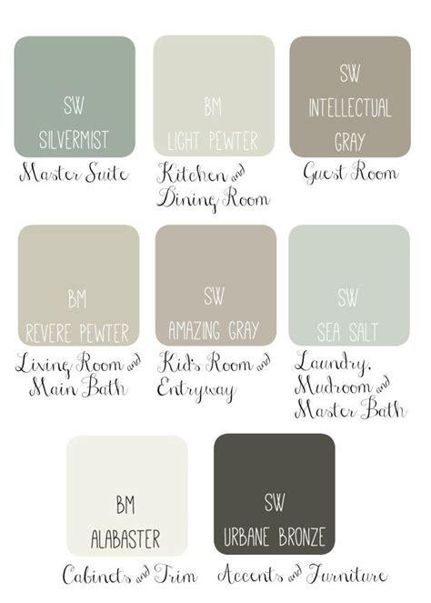 17 best ideas about paint color combinations on paint color palettes seeds color
