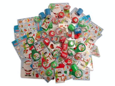 100 christmas assorted party bag fillers 12p each