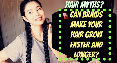 Does Plaiting The Hair Make It Grow Long | hair myth can braids make your hair grow faster and
