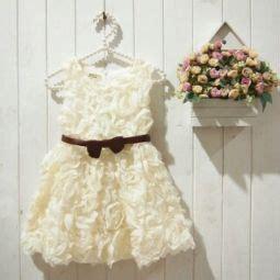 Baju Anak Dress White Burberry Cutie order baju anak yuu bunsay via bbm juga bisa ibuhamil