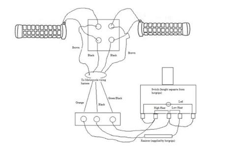 Heated Grips Heated Grips Wiring Diagram
