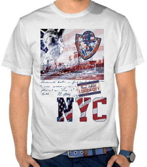 Kaos Usa jual kaos new york city nyc america satubaju