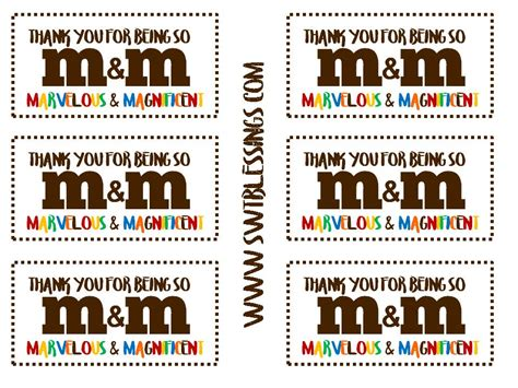 Magnificent And Marvelous Printable technology rocks seriously treat tags m m marvelous
