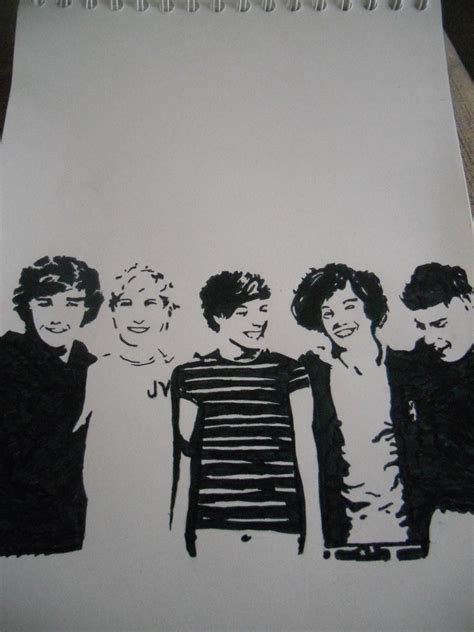 one direction painting one direction pop by elinevaneeghem