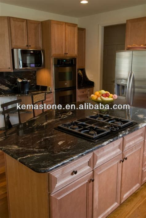 granite top kitchen island table cosmic black granite kitchen island table tops view