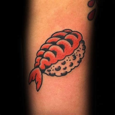 sushi tattoo 50 sushi designs for japanese food ideas