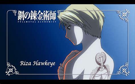 riza hawkeye tattoo fullmetal alchemist riza hawkeye 1280x800 wallpaper