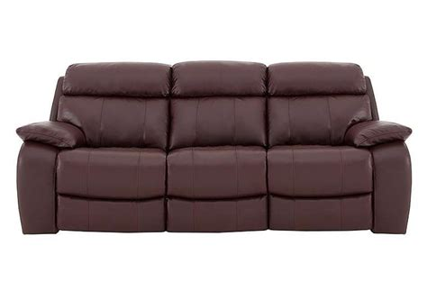 moreno 3 seater leather recliner sofa world of leather