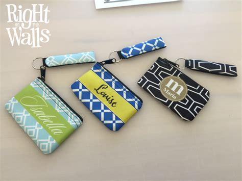 02bcc3r Geometry Pattern Bag Black Yellow Wave Pattern wristlet gift card change coin purse personalized monogram wallet