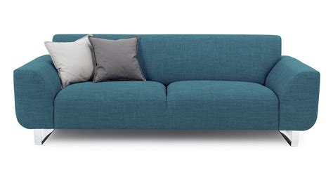 teal sofa dfs dfs hardy teal fabric 3 seater sofa ebay