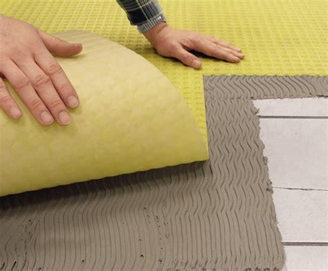Ditra Mat Foundation - durabase ci sealing decoupling matting system for tiles