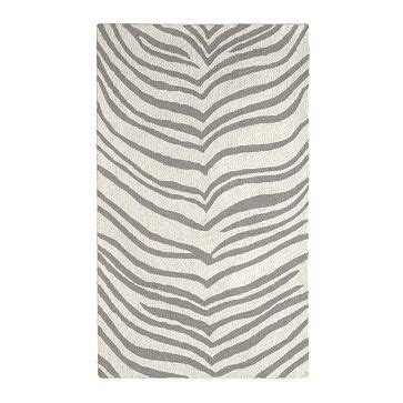 West Elm Safari Rug Jandjhome Diy Zebra Painted Rug