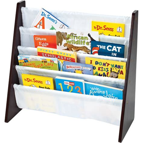Espresso Book Rack tot tutors book rack espresso walmart