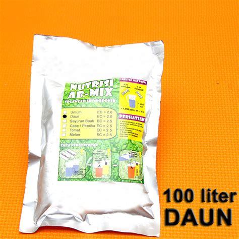 jual nutrisi abmix hidroponik padat 500ml daun ab mix