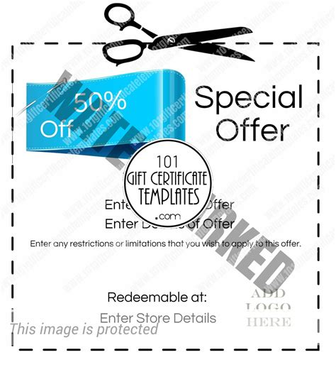 Create Your Own Coupon Free Printable
