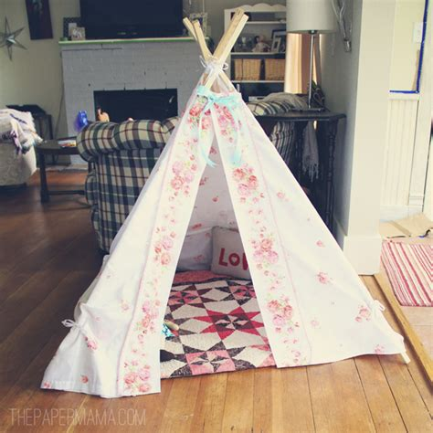 How To Make Paper Teepees - the new teepee the paper