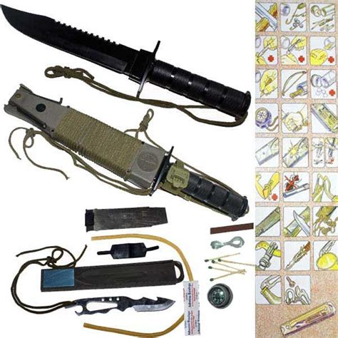 survival knife kits a knife with everything the top 5 survival knife kits