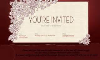 wedding invitation wording 1st wedding anniversary invitation cards sles