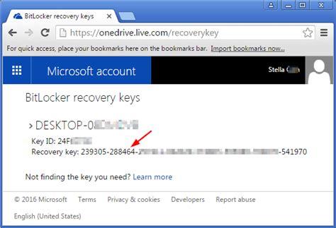 reset windows password bitlocker 2 ways to recover bitlocker recovery key for surface pro