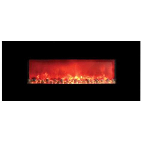 homcomfort widescreen 58 in wall mount electric fireplace