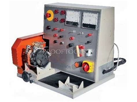 alternator bench tester alternator starter automatic test bench spin banchetto