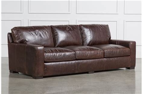 Shop Leather Sofas Online Leather Sofas For Sale Living Spaces Leather Sofa