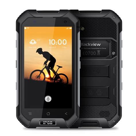 Blackview Bv6000 blackview bv6000 4 7inch mt6755 android 6 0 rugged phone black