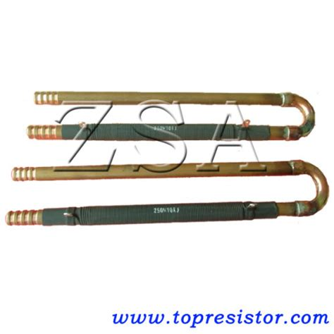 water cooled wire wound resistor copper wirewound water cooling resistor popular in induction furnace slr bct manufacturer