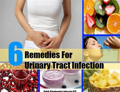 6 home remedies for urinary tract infection