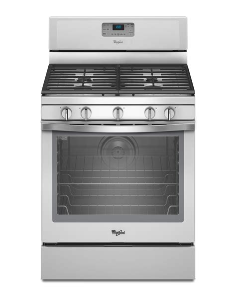 whirlpool gas range reviews whirlpool wfg540h0eh 5 8 cu ft freestanding gas range