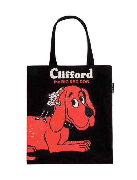 clifford the clifford the big tote strand mag