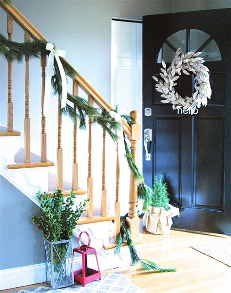 easy christmas home decor ideas christmas home tour holiday decorating ideas lemonade