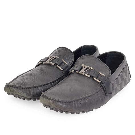 Louis Vuitton Shoes 88 5 louis vuitton damier graphite hockenheim s moccasin s 42 5 8 5 luxity