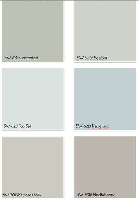 sherwin williams paint colors our home